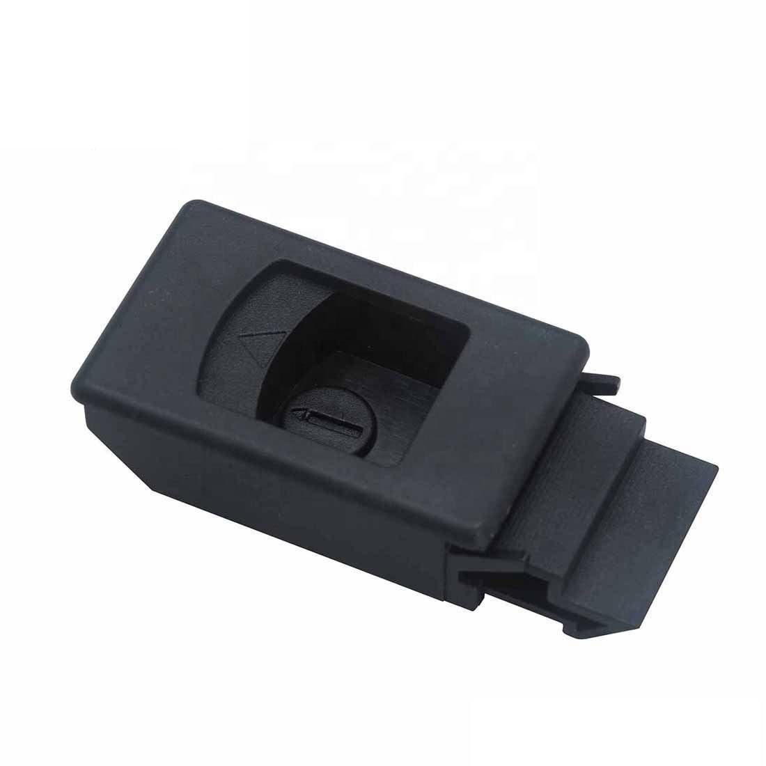 LM-725-L Hasp Small Plastic Slide Latch for Cabinet