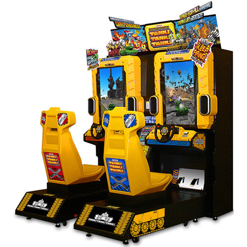 Wholesale Coin Operated Tank Tank Tank Car Racing Simulator Arcade Video Game Machine arcade Games Car Race Game For Sale
