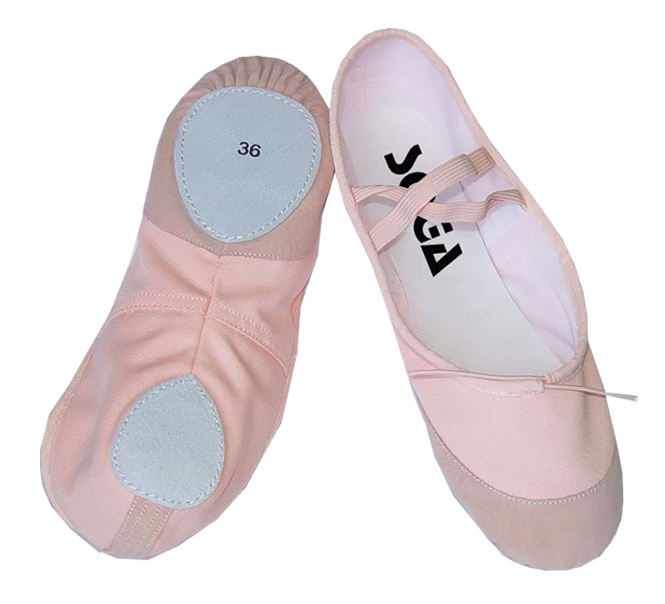 Girls Split Sole Canvas Ballet Slipper/Ballet Shoe/Yoga Dance Shoe (Kid/Women)