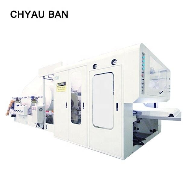 Made In Taiwan Automatic Beauty Essential Salon Soft Smooth Facial Tissue Product Machinery