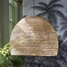 High quality Rattan pendant light decoration / Wholesale Rattan lamp shade totally handmade