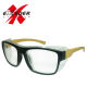 Wooden style safety polarized lifestyle sunglasses