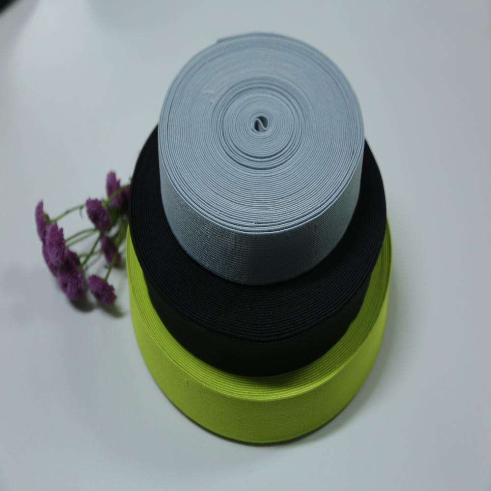 Cheap Price Wholesale Wide Elastic Band With Button Hole for Garment