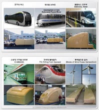 Body of Train & Bus, Exterior Material of Heavy Instrument Mater Model