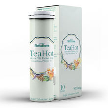Instant Hot Tea Drink TeaHot Brand Ginger Effervescent Water Soluble Teas The Te Chai Chay Fast Dissolving Capsules