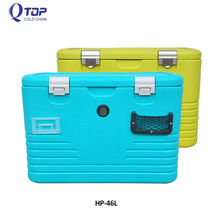 46L ice cooler box plastic cold box for Automotive supplies