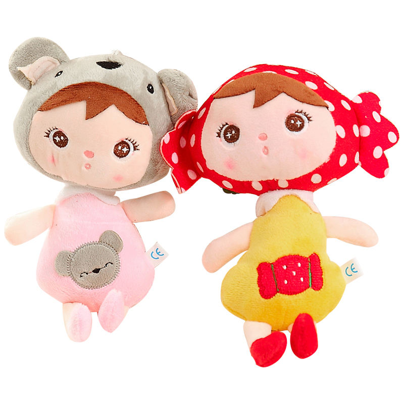 Custom cute image small mini cartoon doll soft flat cheap stuffed plush toy with low price for baby