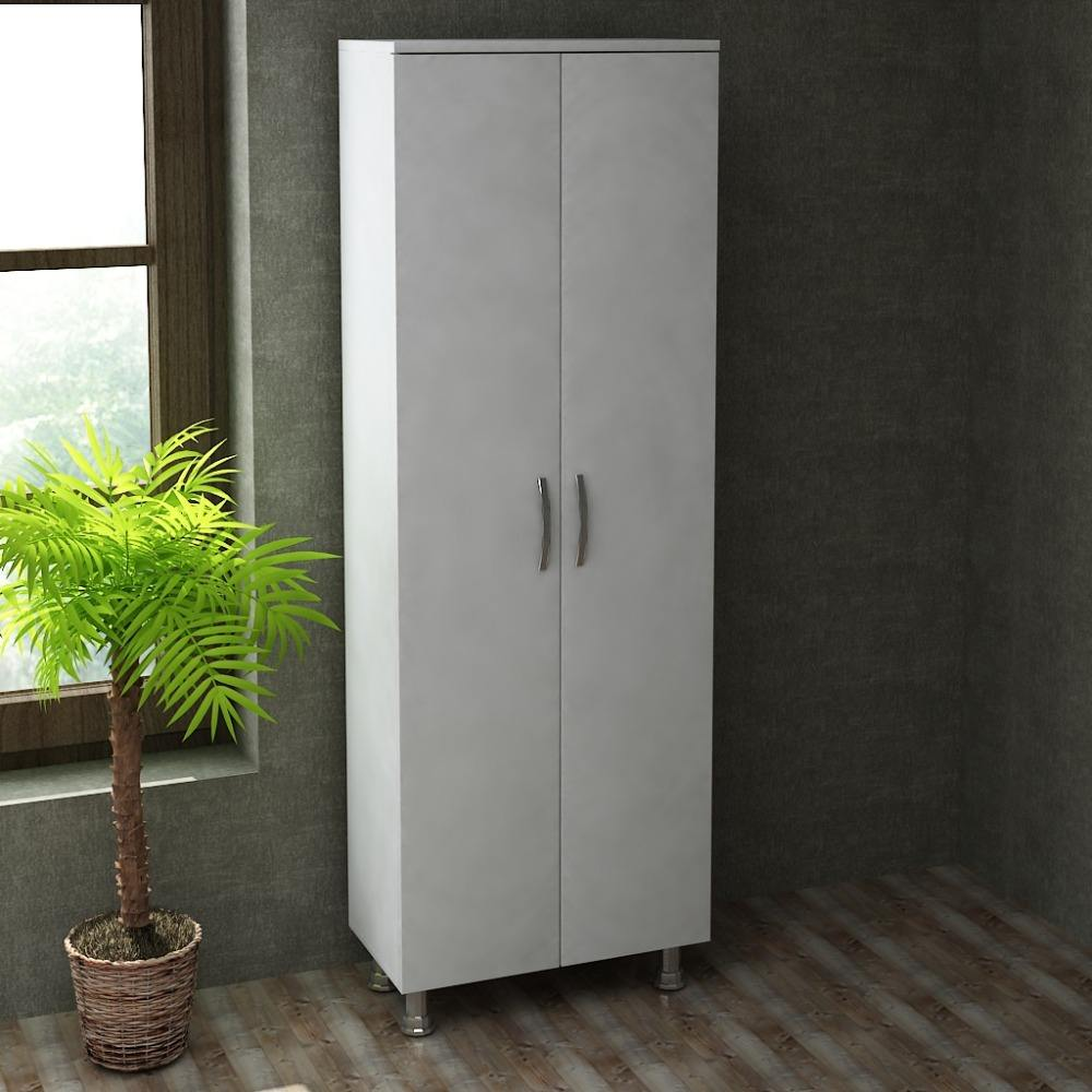 Arizona 2 Covered Multipurpose Wooden Cheap Movable Cupboard
