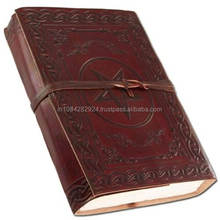 New Celtic Embossed Leathers Handmade Writing Note Book Pocket Diary.