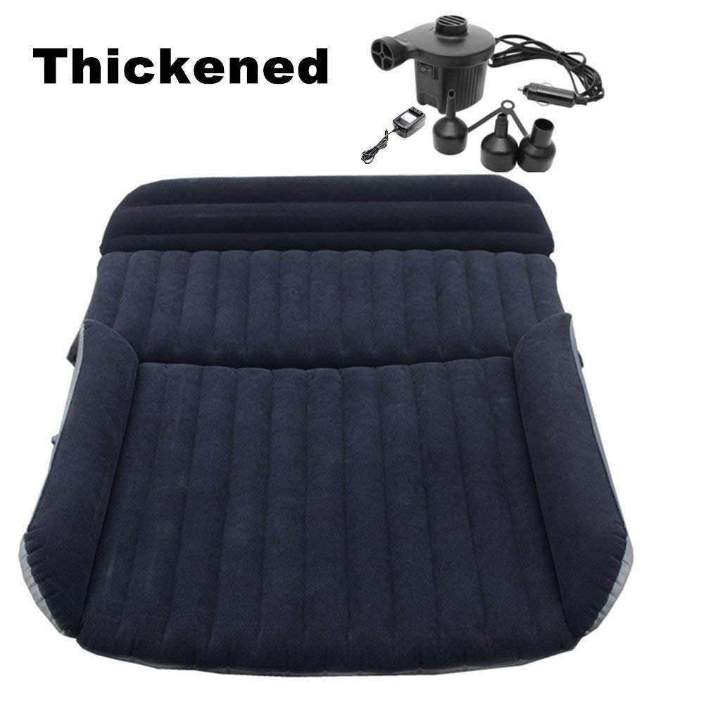 Thickened Car Inflatable Mattress Air Bed Home Air Mattress Portable Camping Outdoor Mattress