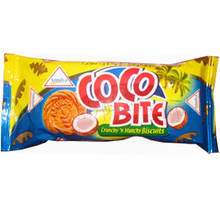 Coco Bite Cookies/ Coconut flavored biscuits Nice biscuits