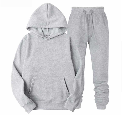 New Tracksuit Men Set Sporting 2 Pieces Sweatsuit Men Clothes Hooded Hoodies Jacket Pants Track Suits Male