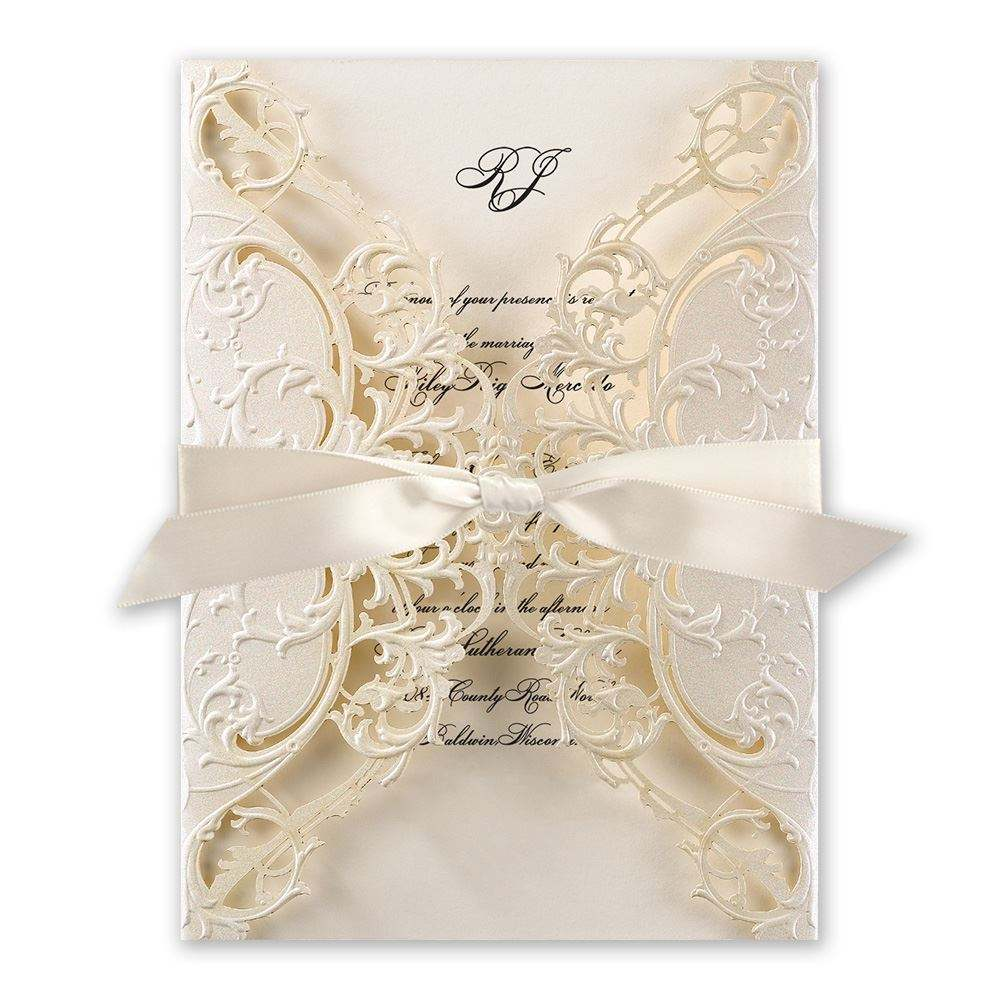 2019 Hot Selling Luxurious Wedding Invitation Card for Royal