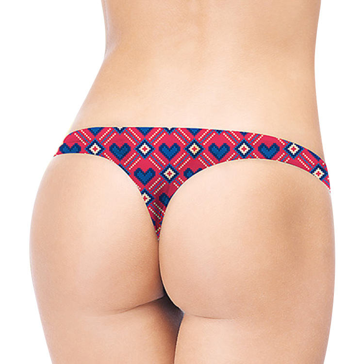 Accept OEM/ODM private label thong panty underwear women