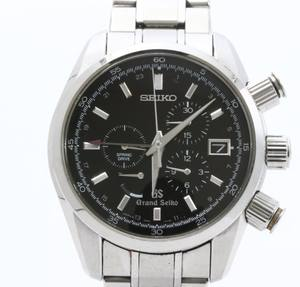 Used Mint Condition high Brand Used GRAND SEIKO Spring Drive SBGC003 Wrist Watches for bulk sale. Many brands available.