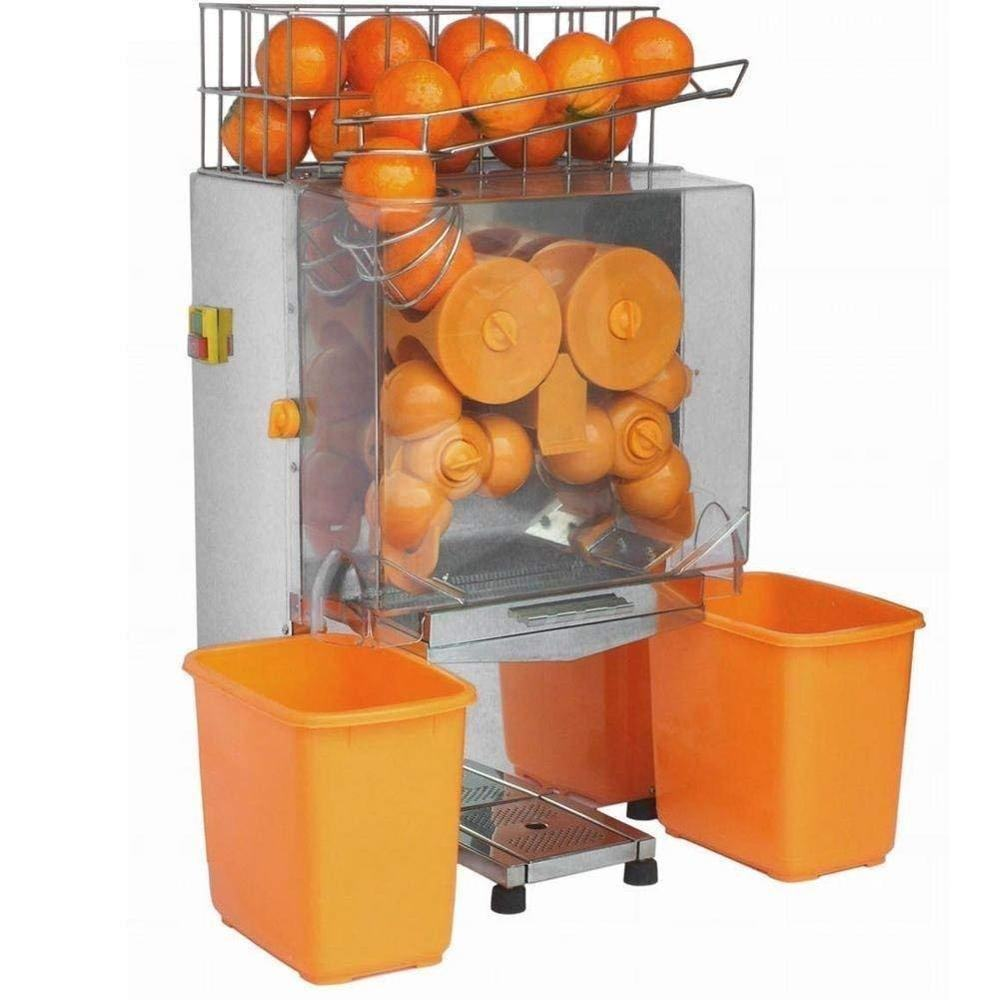 Stainless Steel Industrial Fresh Squeezed Orange Juice Extractor Machine