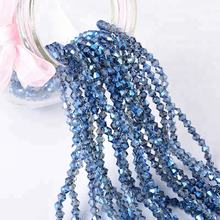 10mm Fashion Shoe Beads Crystal, Chinese Crystal Beads Wholesale Bicone Glass Bead