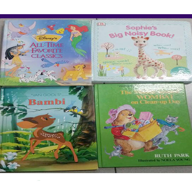Wholesale Supply of Excellent Condition Used Children Books