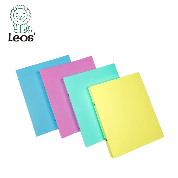 2 hole plastic o ring binder punch file folders a5