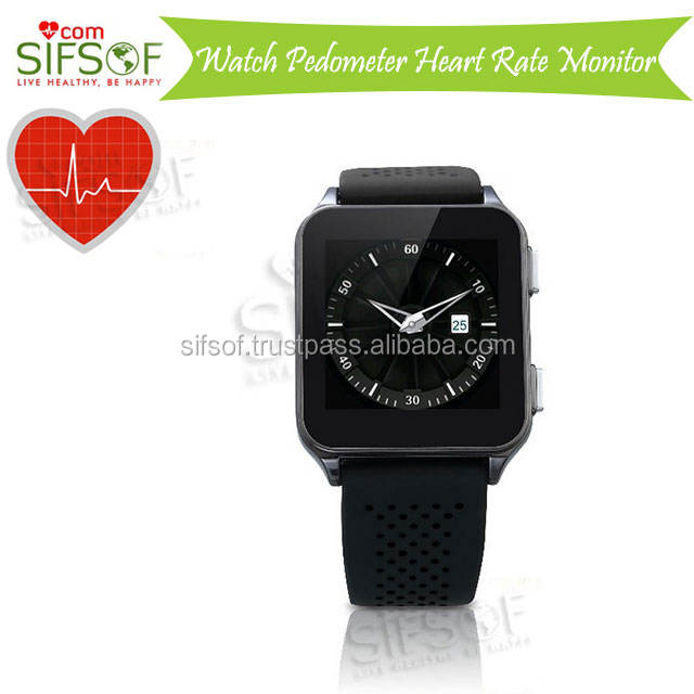 SIFWATCH-4 นาฬิกา Pedometer กับ MP3 Player, Accurate Heart Rate Monitor บลูทูธนาฬิกา Pedometer