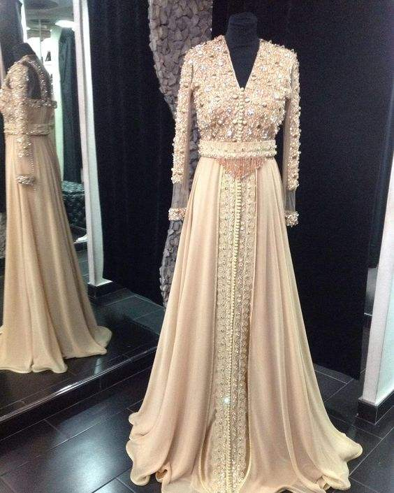 MAROKO MERMADE MUSLIM FORMAL PERNIKAHAN EVENING GOWN DRESS