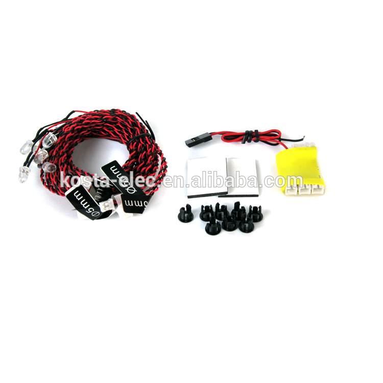 Realistic RC directional LED Lighting Kit for Airplanes and Helicopters