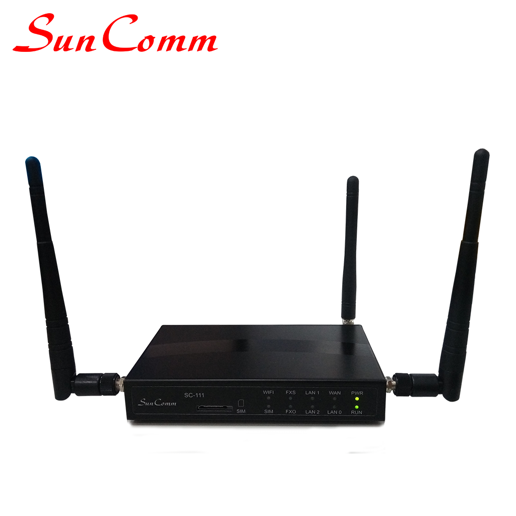 SC-111-WAG WIFI VoIP ATA one fxs one line gsm voip gateway
