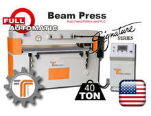 Jigsaw Puzzle Die Cutting Machine - 40-Ton Beam Press CNC