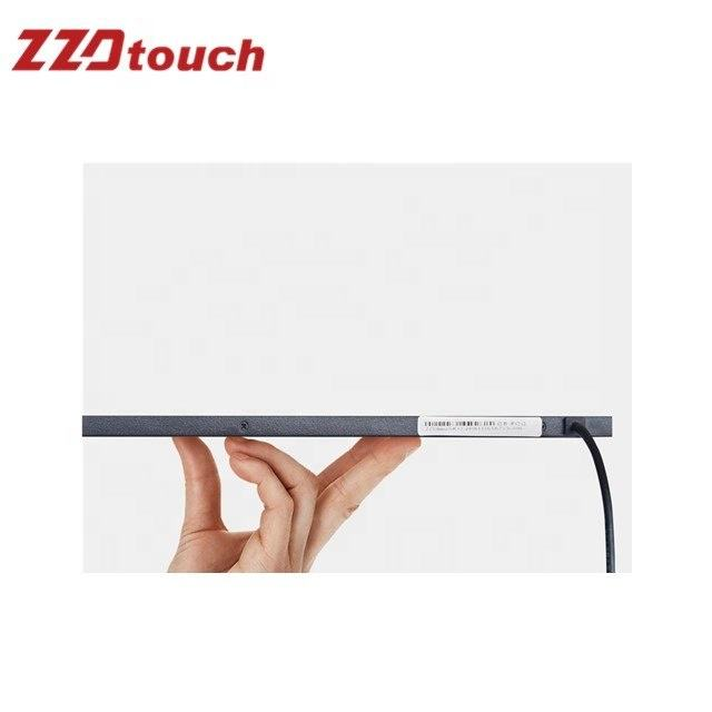 Infrarood touch screen 17 inch multi ir touch frame 6 punten ir touch panel overlays voor LCD TV Spiegel Interactieve machine