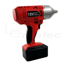 Industrial 1/2 inch Cordless 18V Impact Wrench Drill 850 N M Lion Battery Electric Rechargeable Power Tool Blow Moulding Box