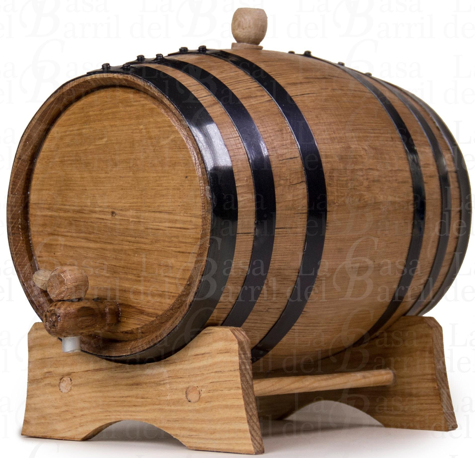 Handmade white oak barrel 3 liter , to age whiskey, tequila, ron, beer, wine