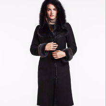 Luxury Shearling Coat for ladies