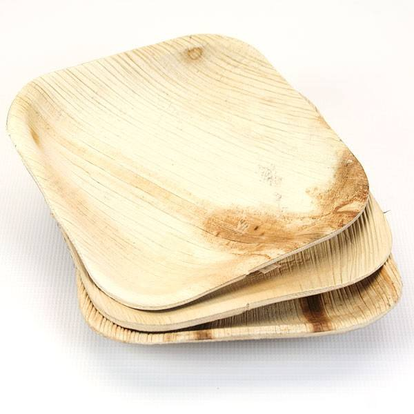 Areca (Palm) leaf tableware from Vietnam // Organic Eco Friendly Disposable Biodegradable plates