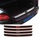 Car Accessories Rubber Sheet Car Rear Guard Bumper 4D Sticker Panel Protector