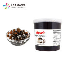 Hot-selling Coffee Jelly Topping Bubble Milk Tea Supplies Wholesale