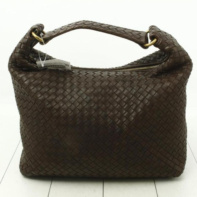 Auth Pre-owned Good Quality High BRAND BOTTEGA VENETA Intrecciato BlackShoulder Tote Bag for Bulk