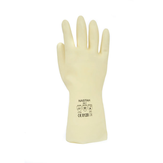 Latex gloves malaysia manufacturer factory direct supply Malaysia natural latex ivory color food grade gloves
