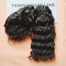 Indian Virgin Unprocessed Bundle For Hair  Temple Hair Line Factory India