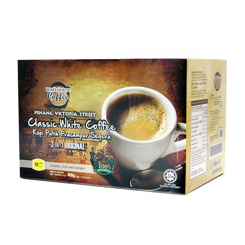 WC Classic White Coffee 3 In 1 (10's x 40 Grams)
