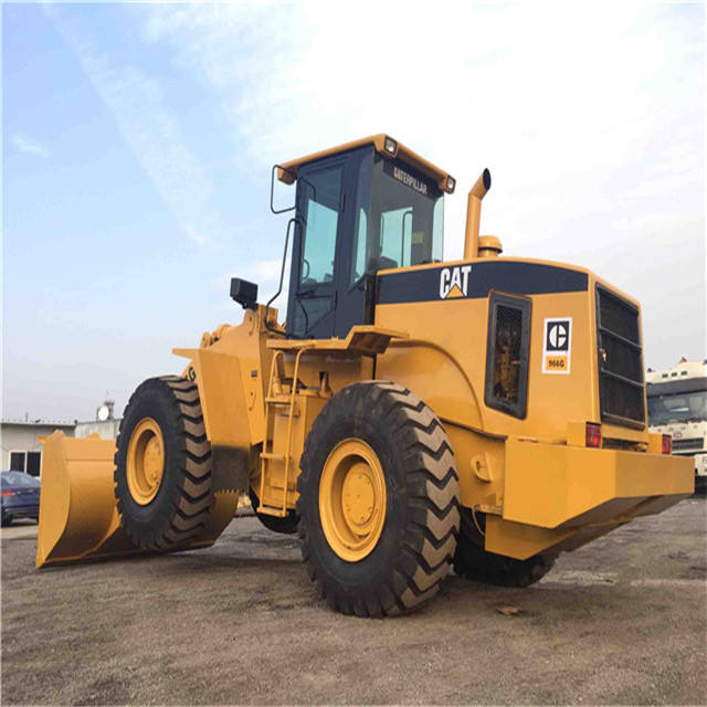used Japan wheelLoader 966G/Cat used 966E 966F 966G/ Caterpillar wheel Loaders 966H