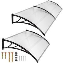 DIY Outdoor Window Awnings Clear Solid Polycarbonate Roof Sheet Canopy Awnings
