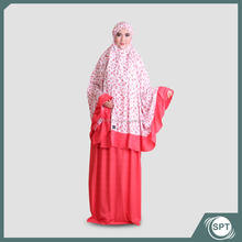 Prayer Dress Set Mukena Indonesia muslim clothing women dress