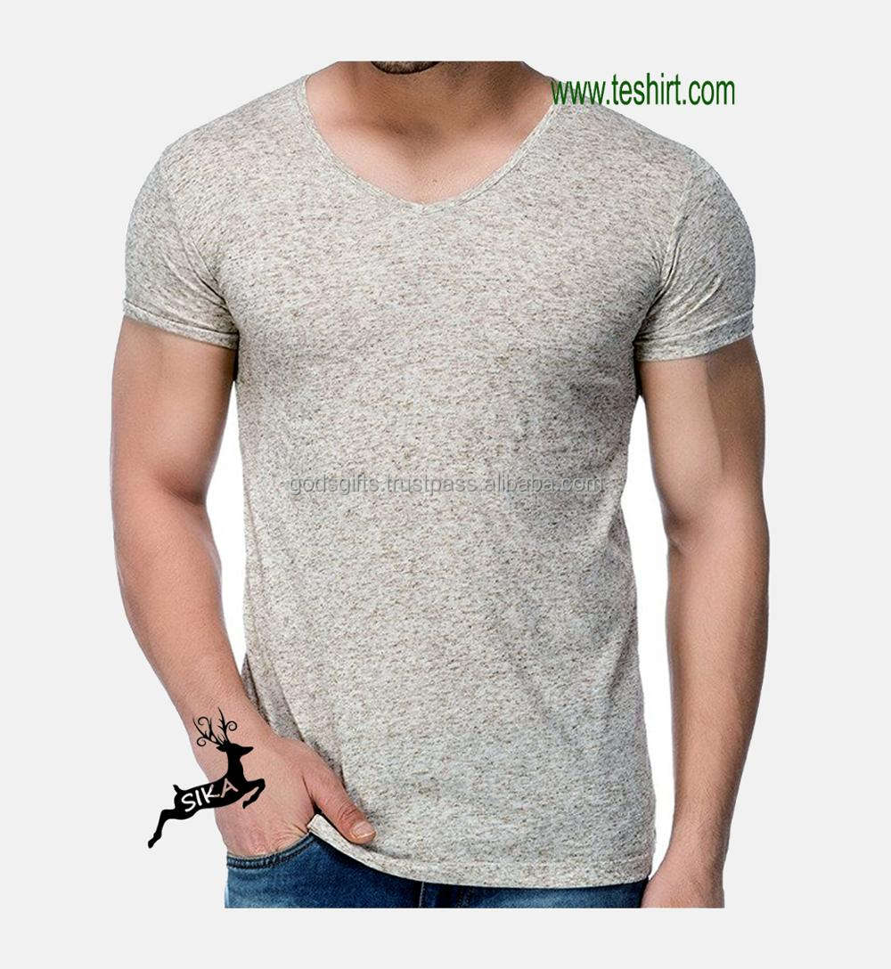 New designs 50% polyester 25%cotton 25%rayon tri blend plain shirts label custom label t-shirt wholesale
