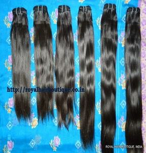 Factory wholesale natural custom virgin double drawn Remy Brazilian Peruvian Indian body wave human hair
