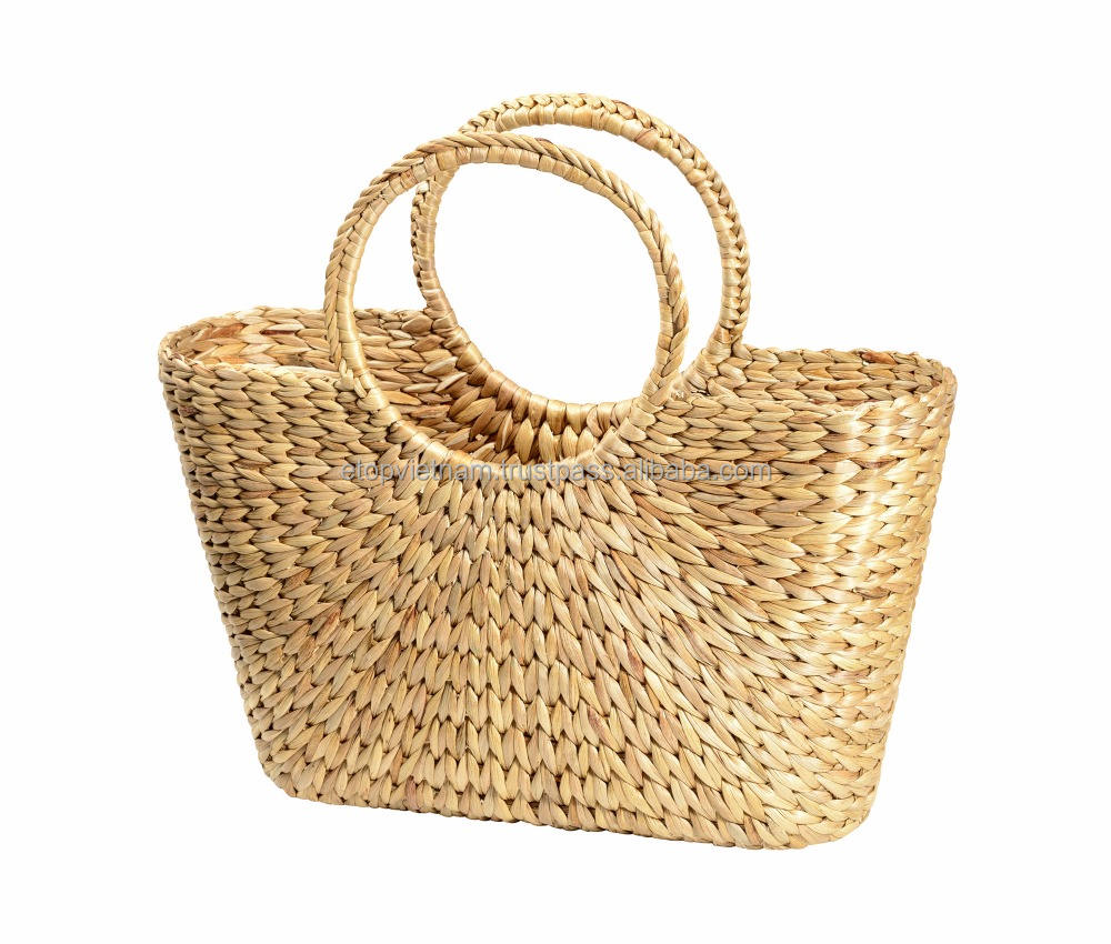 Water hyacinth bag for holiday