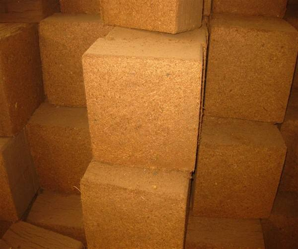 5 kg Low EC coco peat block from india