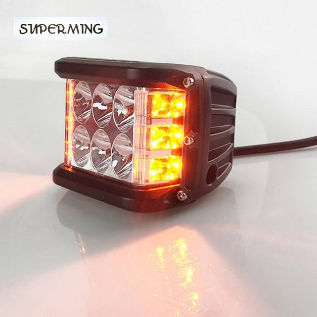 12 v LED Flash spot waarschuwing strobe light