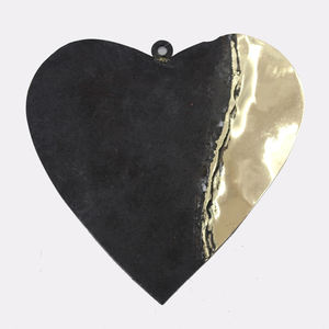 Iron Brass Christmas Decorative Metal Heart Ornaments