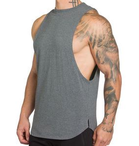 Tee muscular topos homens tanque ginásio de fitness mens singlet
