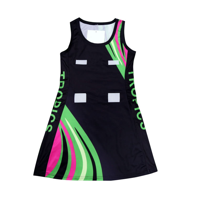 Sublimation Netball Dresses for girls Wholesale Custom Women Netball Uniform